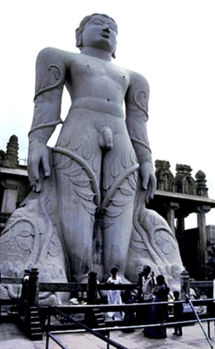 Gomateshwara Statue at Shravanabelagola