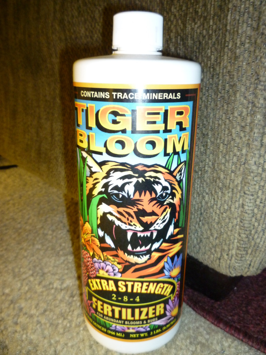 FoxFarm Tiger Bloom Liquid Nutrient
