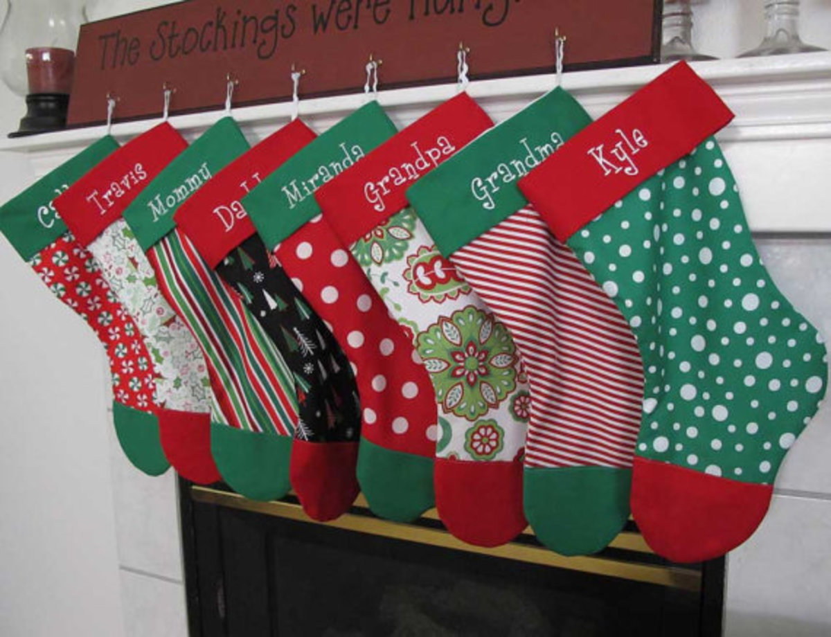 10 Free Christmas Stocking Pattern Tutorials | HubPages