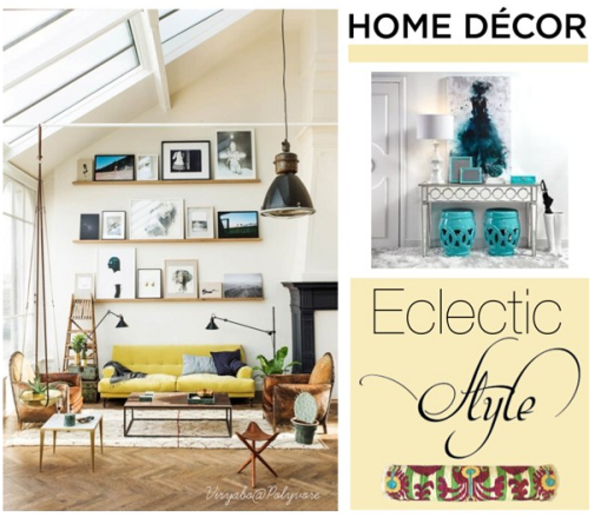 A modern eclectic style