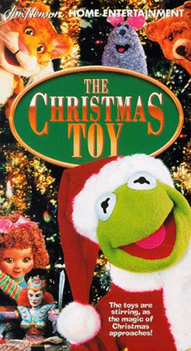 Jim Henson's The Christmas Toy VHS