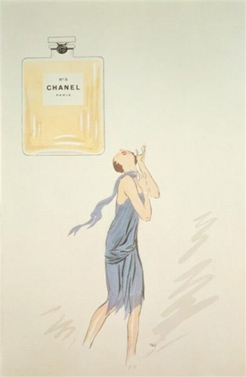 One of the earliest Chanel No5 advertising  promotions