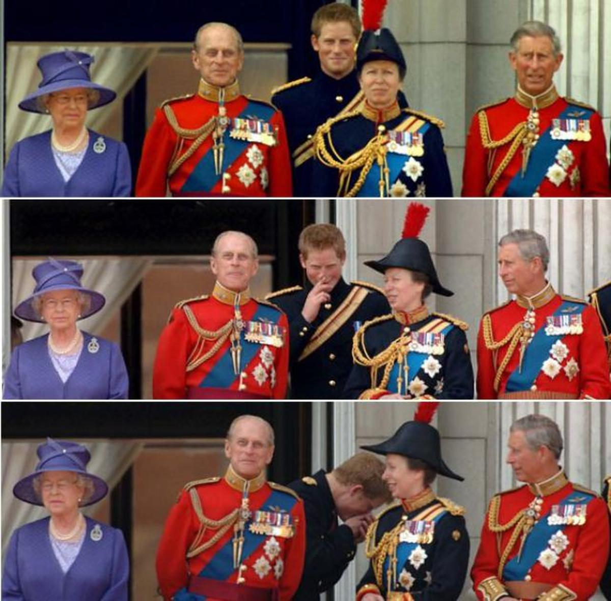 Prince Phillip Looks Guilty And Happy. The Royal Wedding Farty! 2011