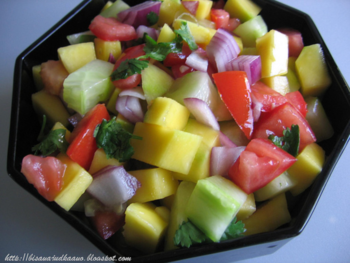 Mango Cucumber Salad (Photo Credits: bisayajudkaayo)