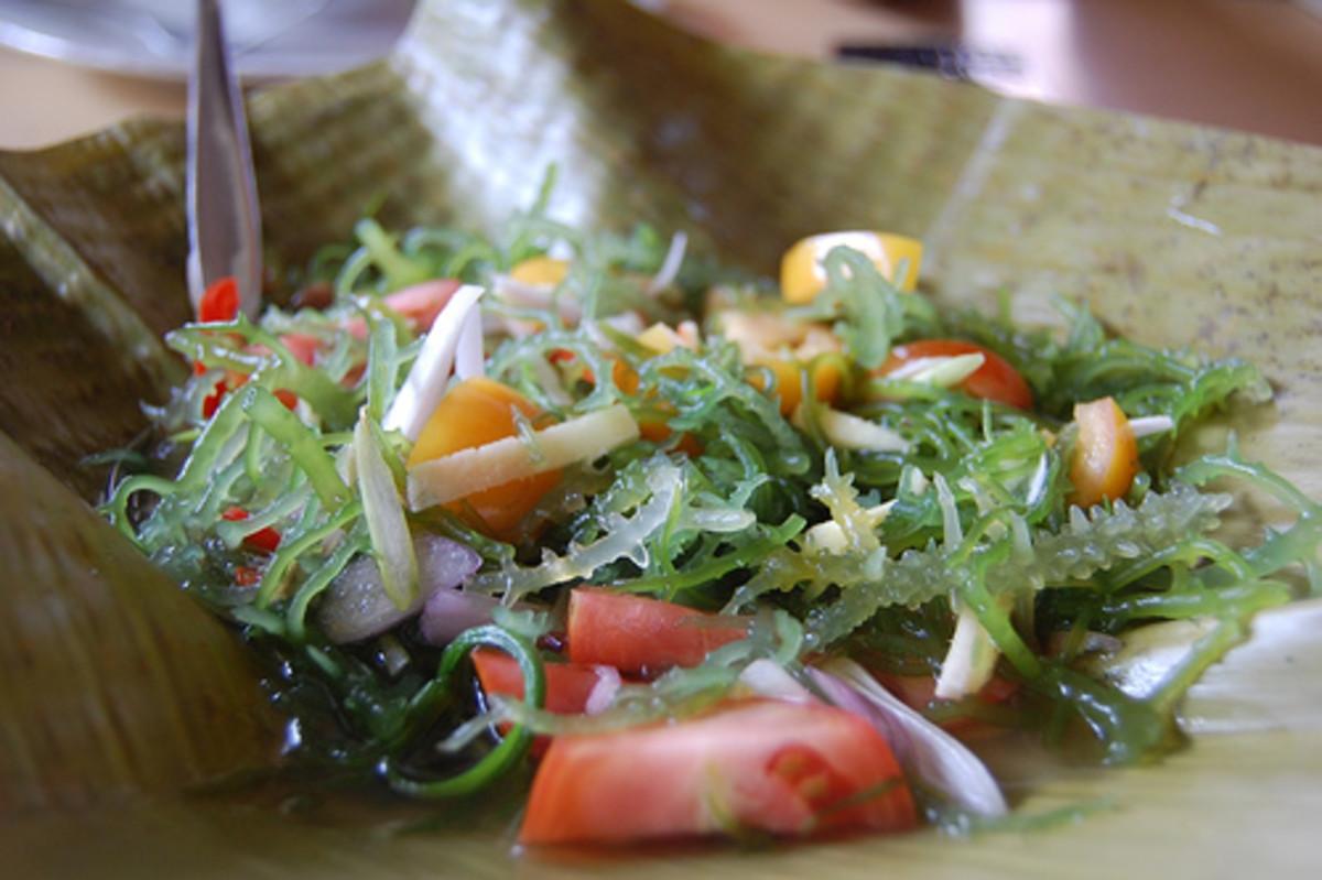Fresh Seaweed Salad by georgeparrilla