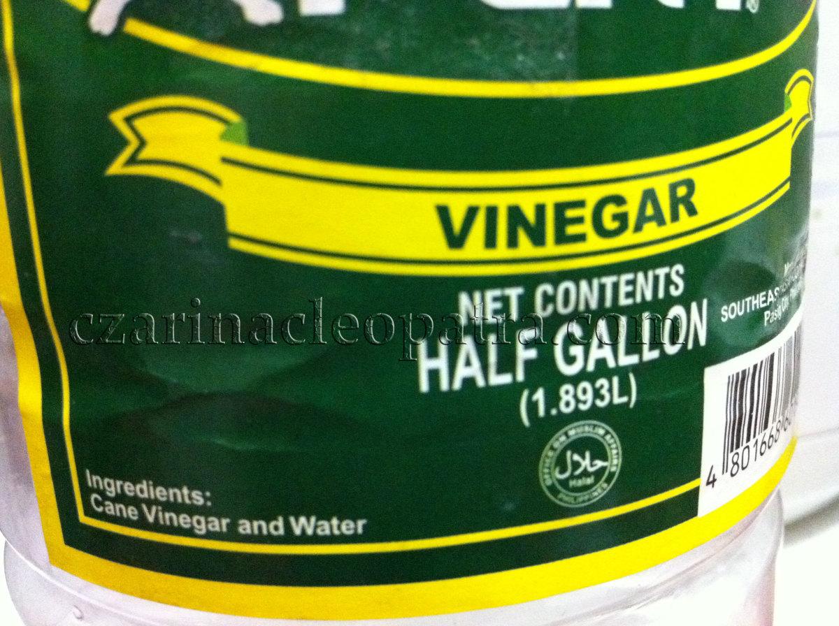 White Vinegar or Sukang Puti in Filipino