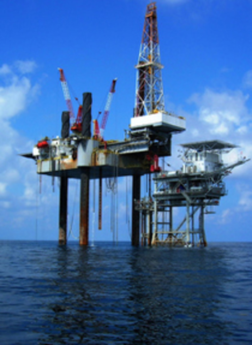 Jack-Up Rig Oil Platform