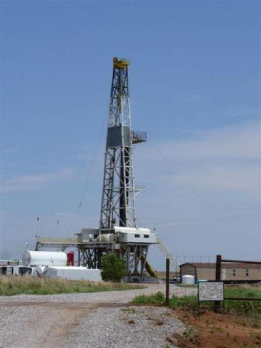 What Is A Rotary Derrick - Types Of Oil Drilling Platforms