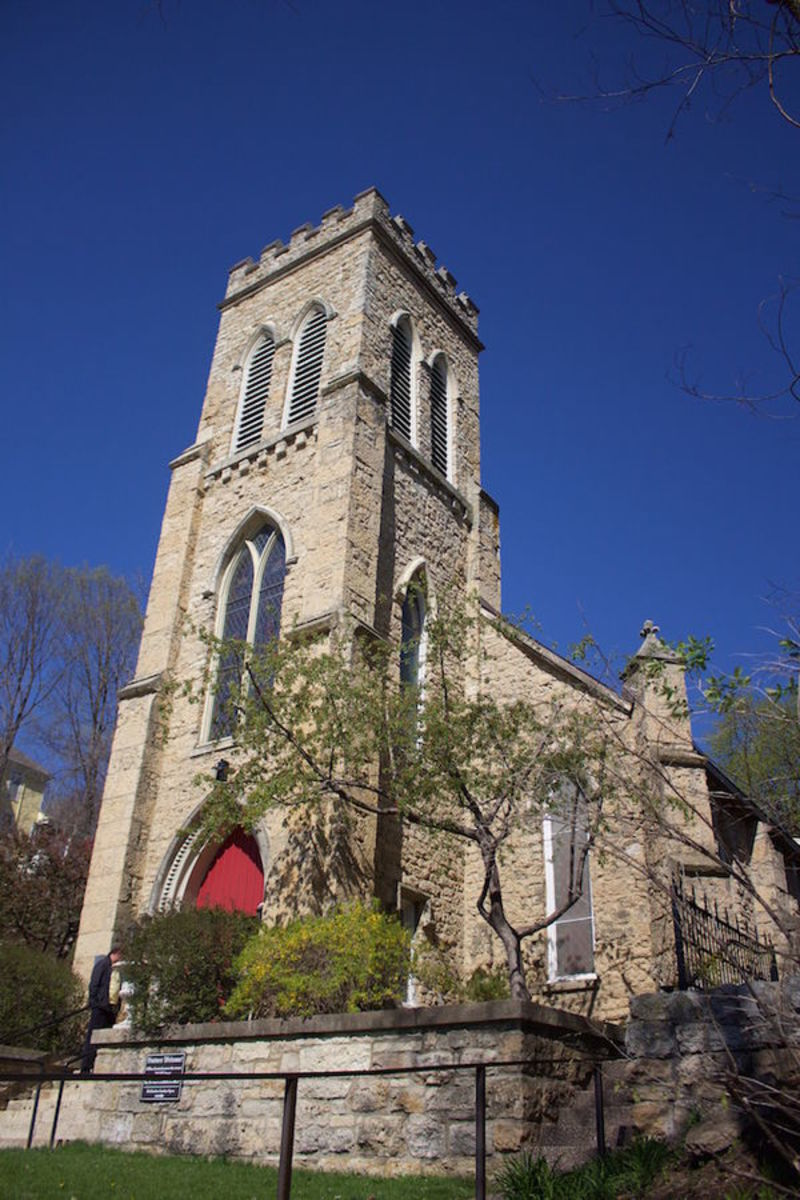 Grace Episcopal Church, Galena, Illinois.