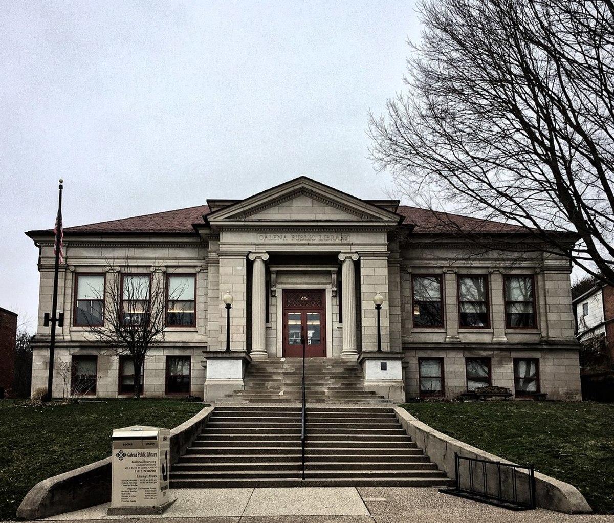 Galena (Illinois) Public Library; a Carnegie Library