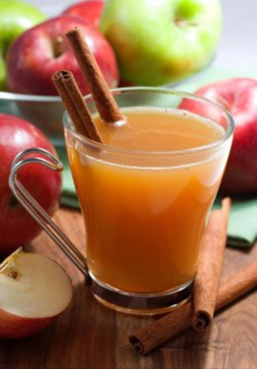 Easy Home Made Apple Cider