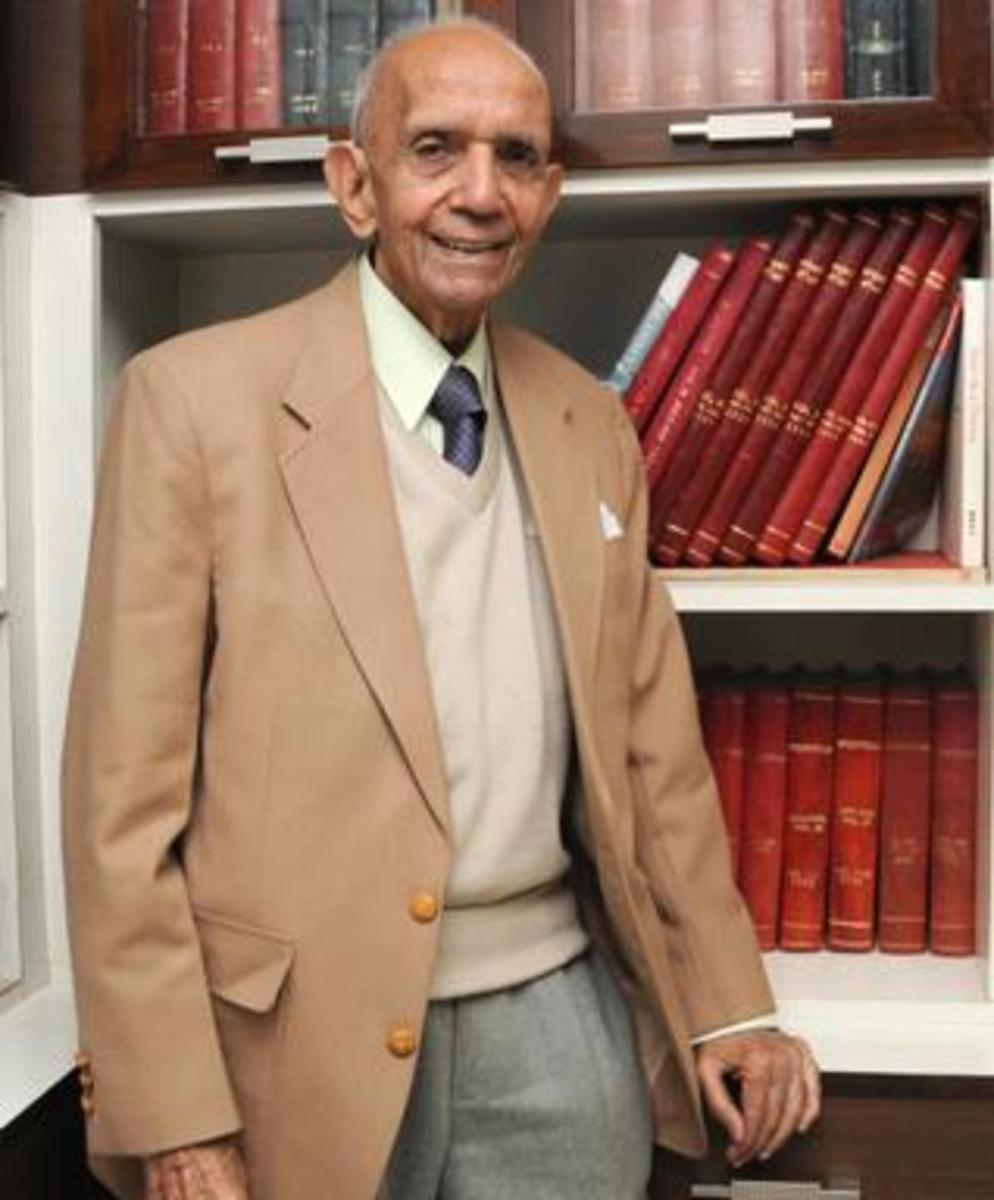 Chaman Nahal author of 'The Silver Lining'