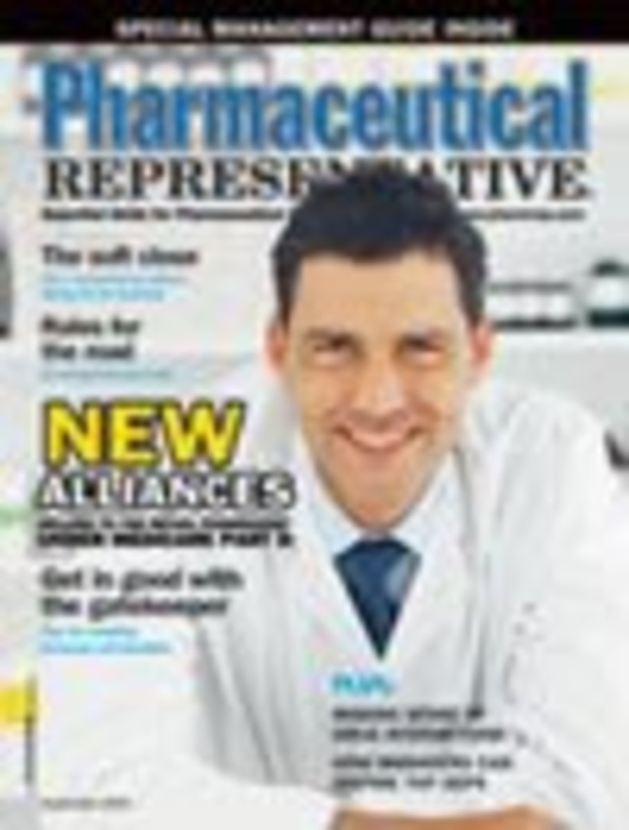 For those of you looking to try a career as a pharma rep. Pharmaceutical representative magazine which can be purchased online. Is a good magazine, to give you some background and current trends within the pharmaceutical industry.