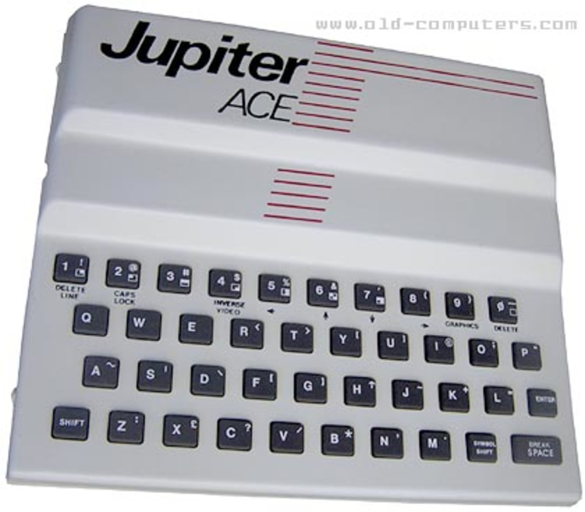 How fast could you type on one of these? The Jupiter Ace