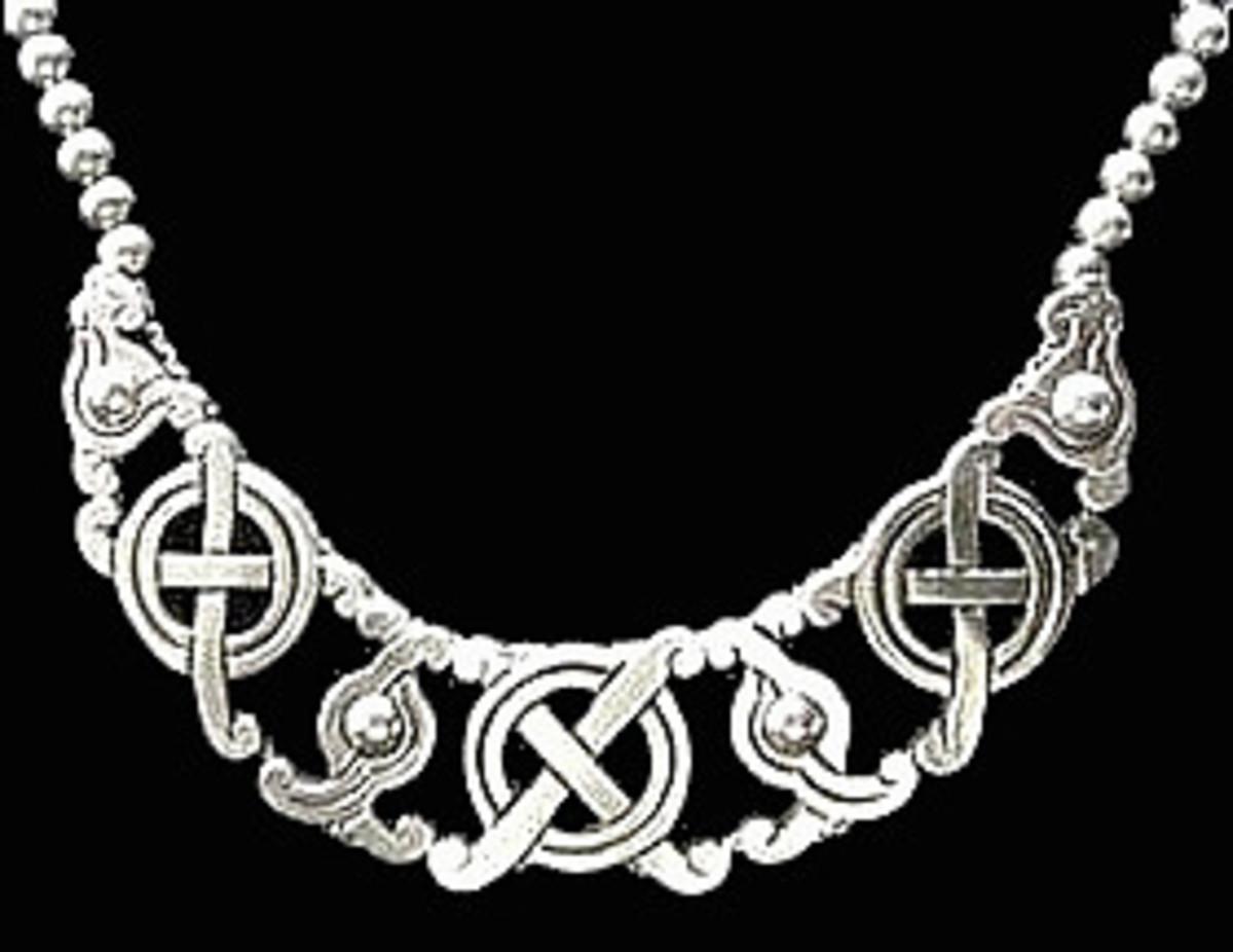 Mayan Cross Necklace