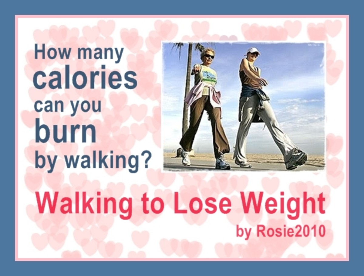 Walking to Lose Weight - How many calories can you burn by walking?