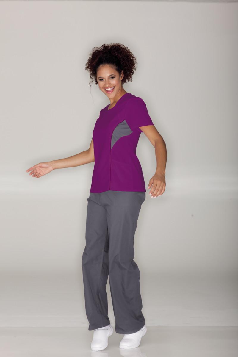 UR-9561 Urbane Sports Womens Mod Scoop Neck Nurse Scrub Top