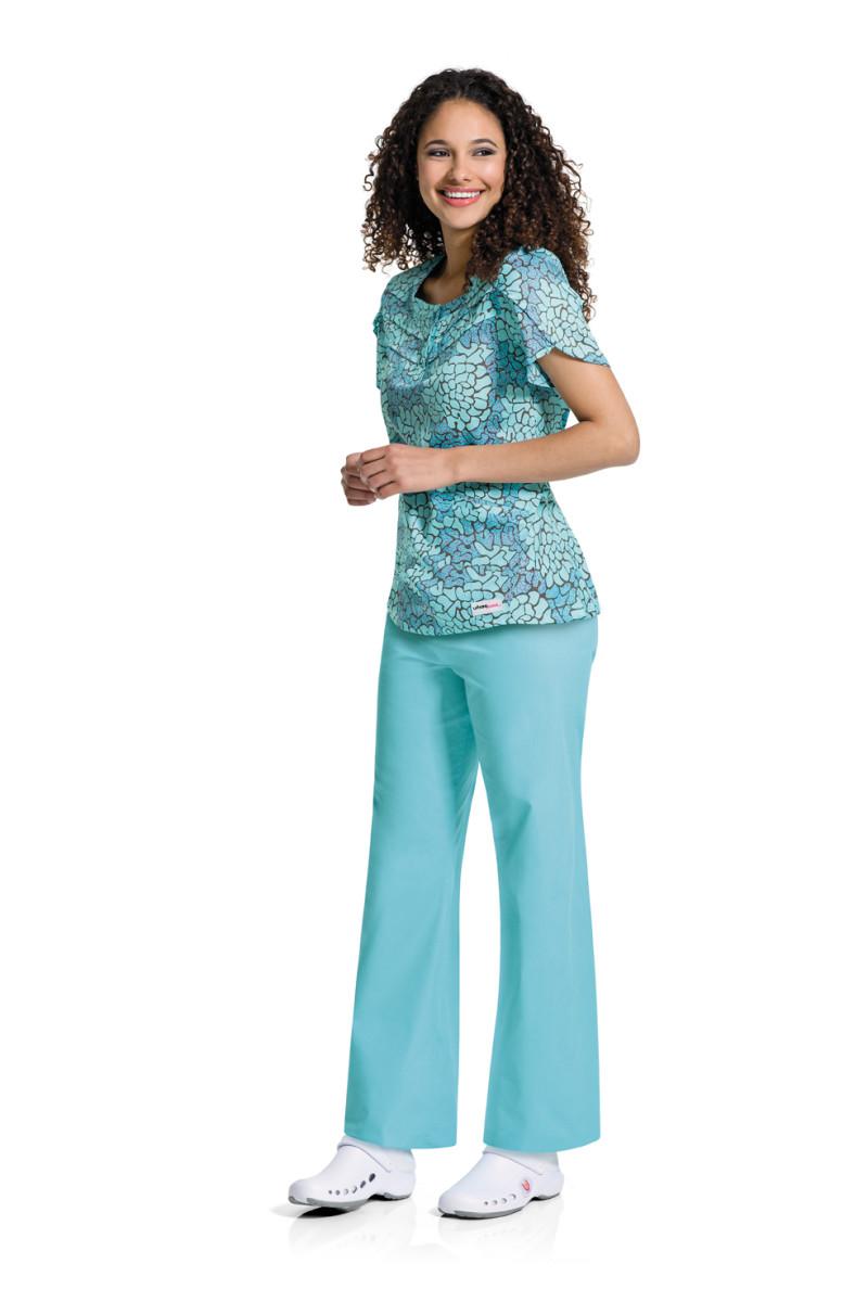 UR-9827 Urbane Sweet Petal Sleeve Tunic