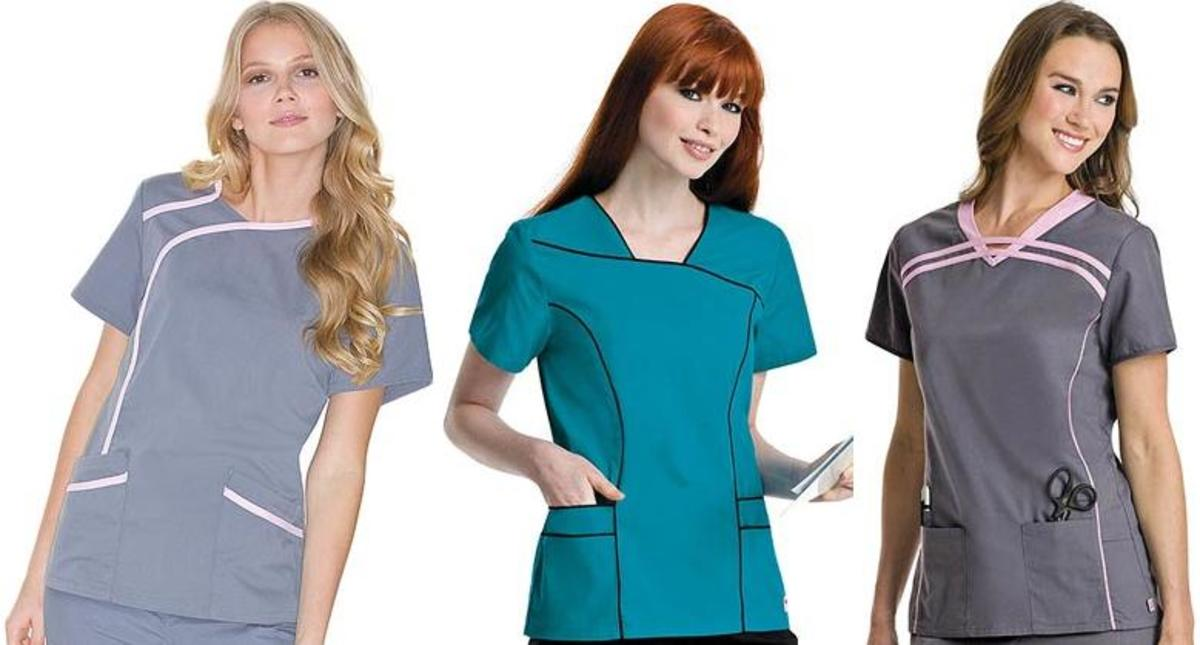 Urbane Scrub Tops from the Urbane Sport Collection