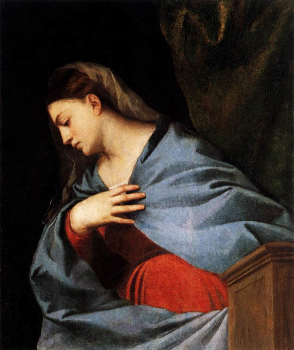 Virgin Mary, Titian