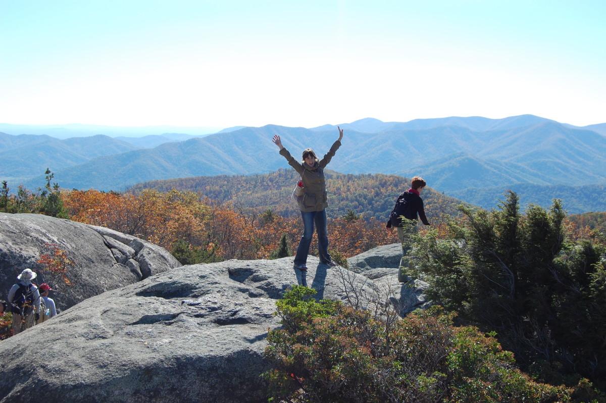 Old Rag Mountain, Virginia, US