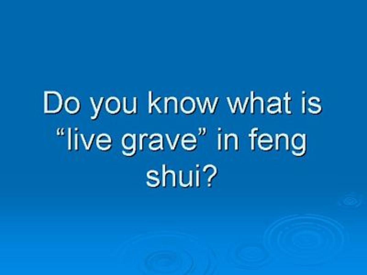 Taoism feng shui technique: Zhong Sheng Ji