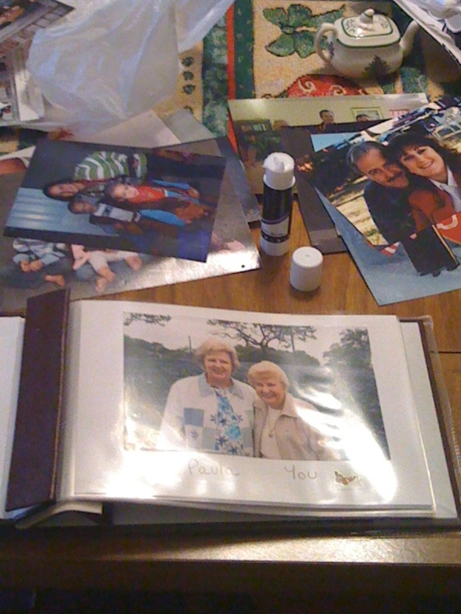 Dementia Patient Photo Albums