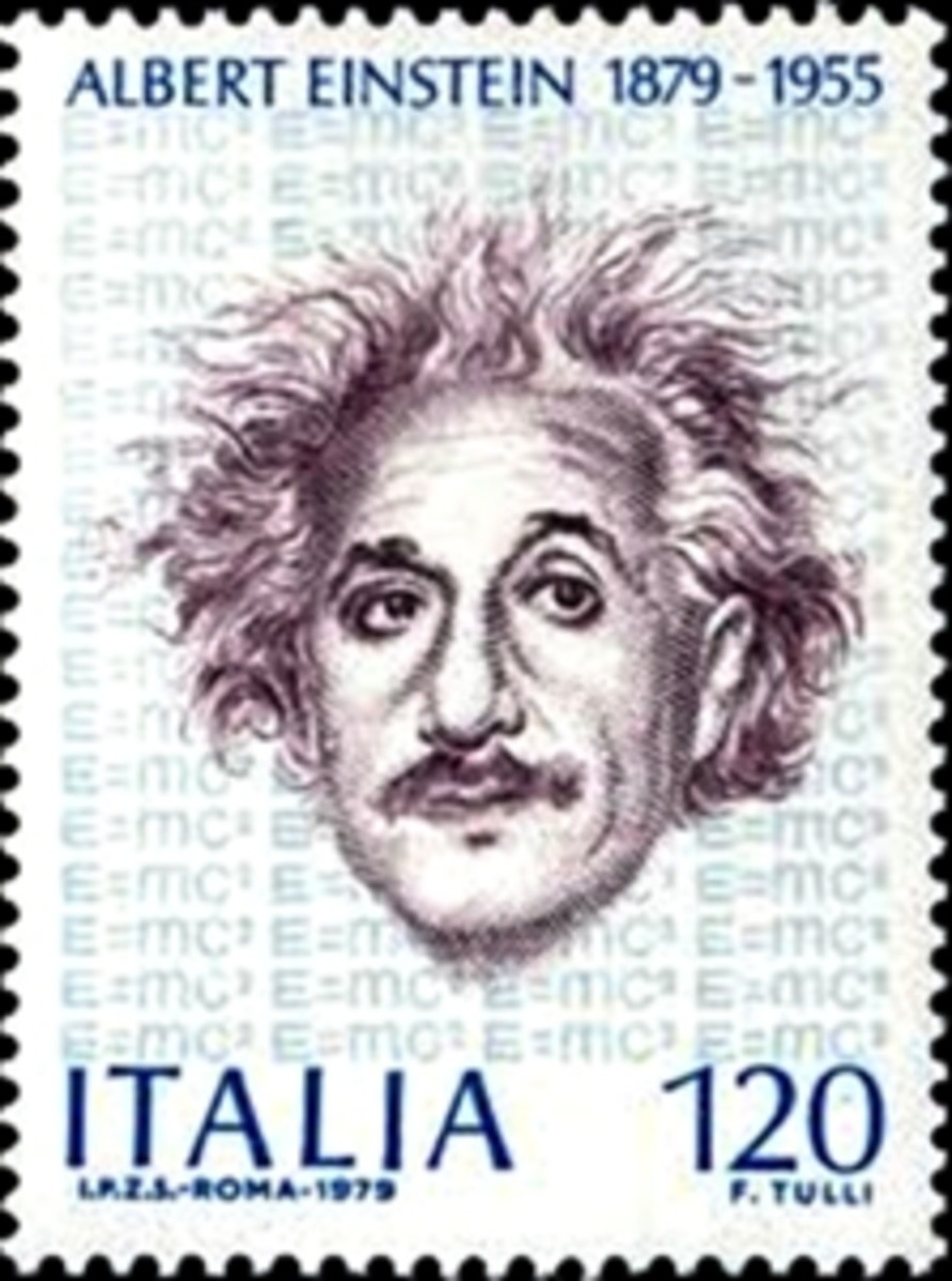 Italy's postage stamp on Einstein