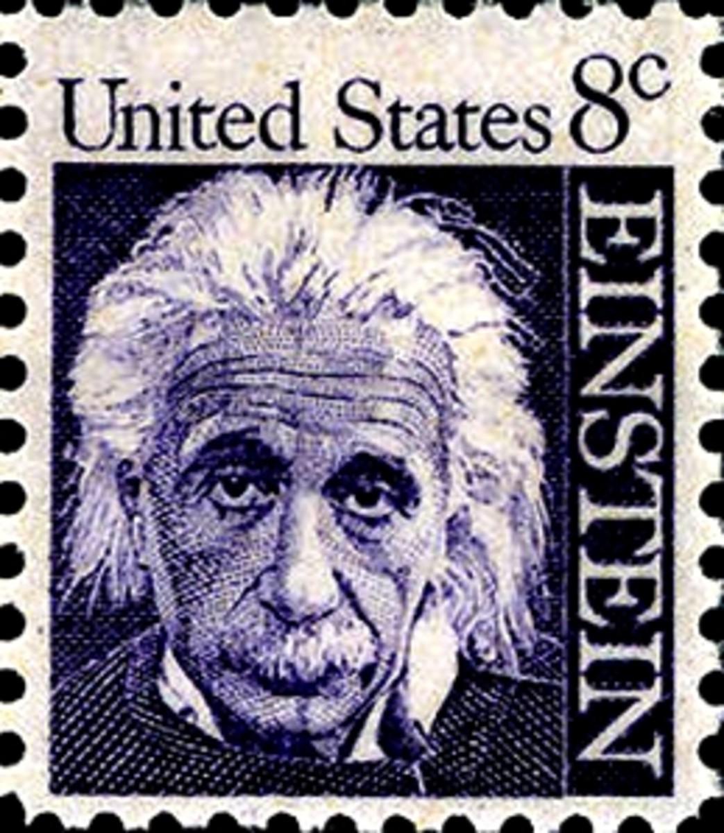 anothere Einstein stamp from USA