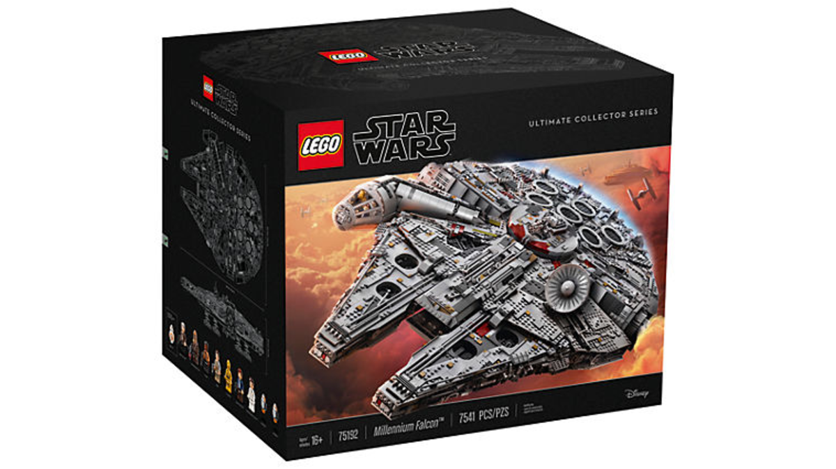 Lego Ultimate Millennium Falcon - set 75192