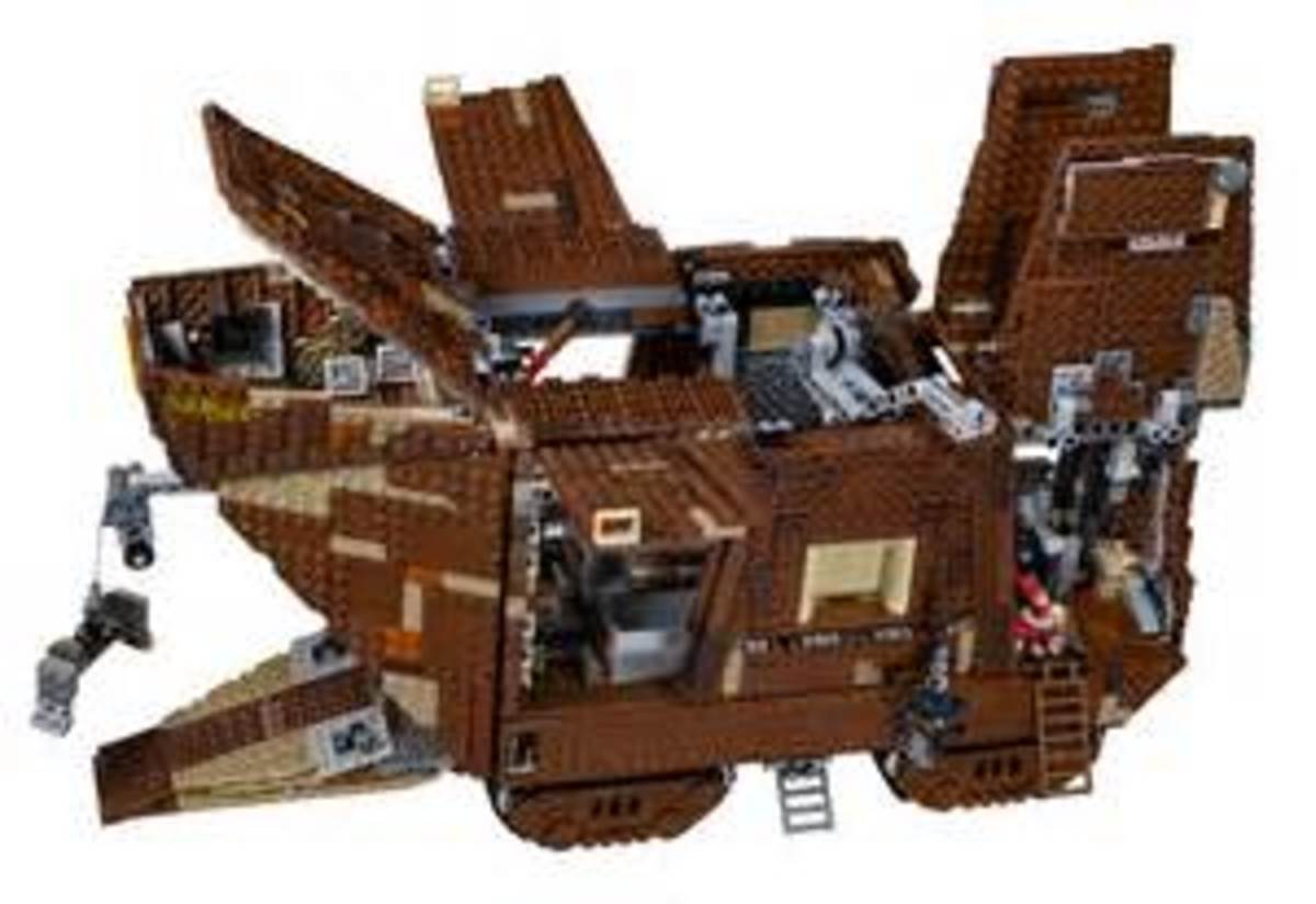 Lego Sandcrawler - set 75059