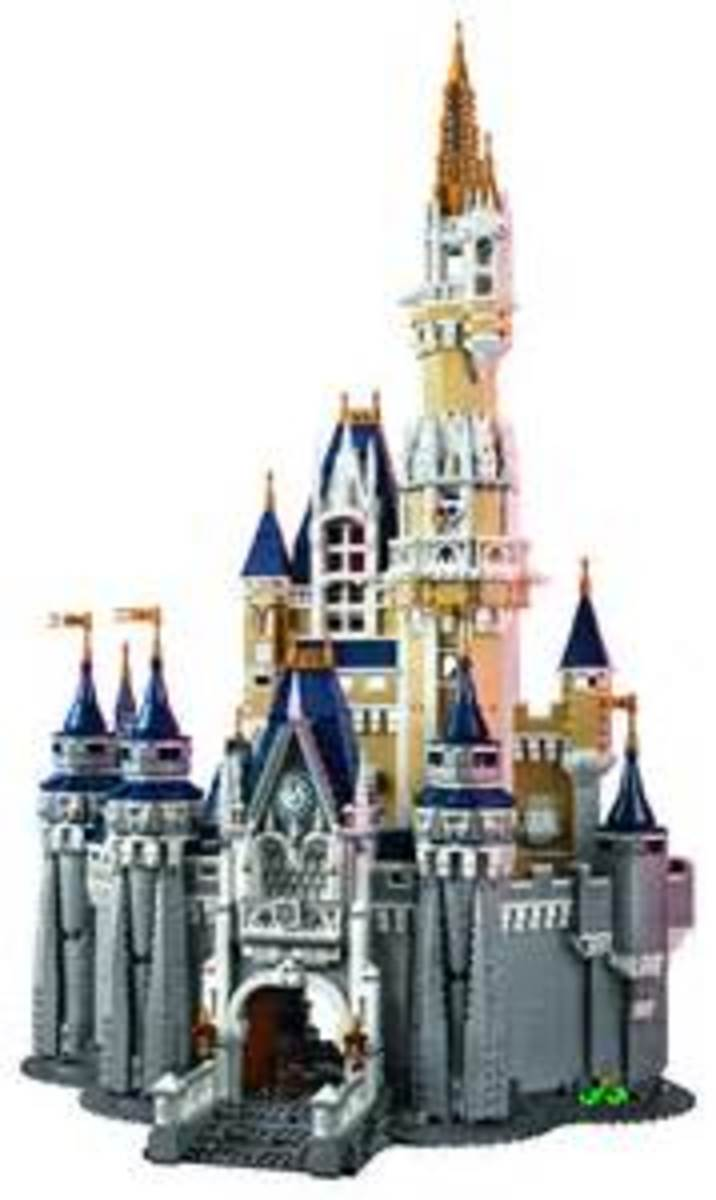 Lego Disney Castle - set 71040