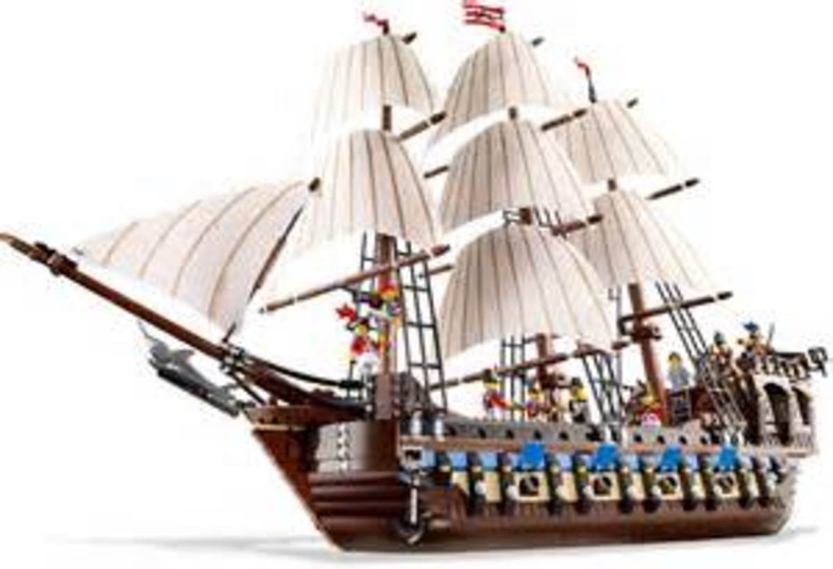 Lego Imperial Flagship - Set 10210