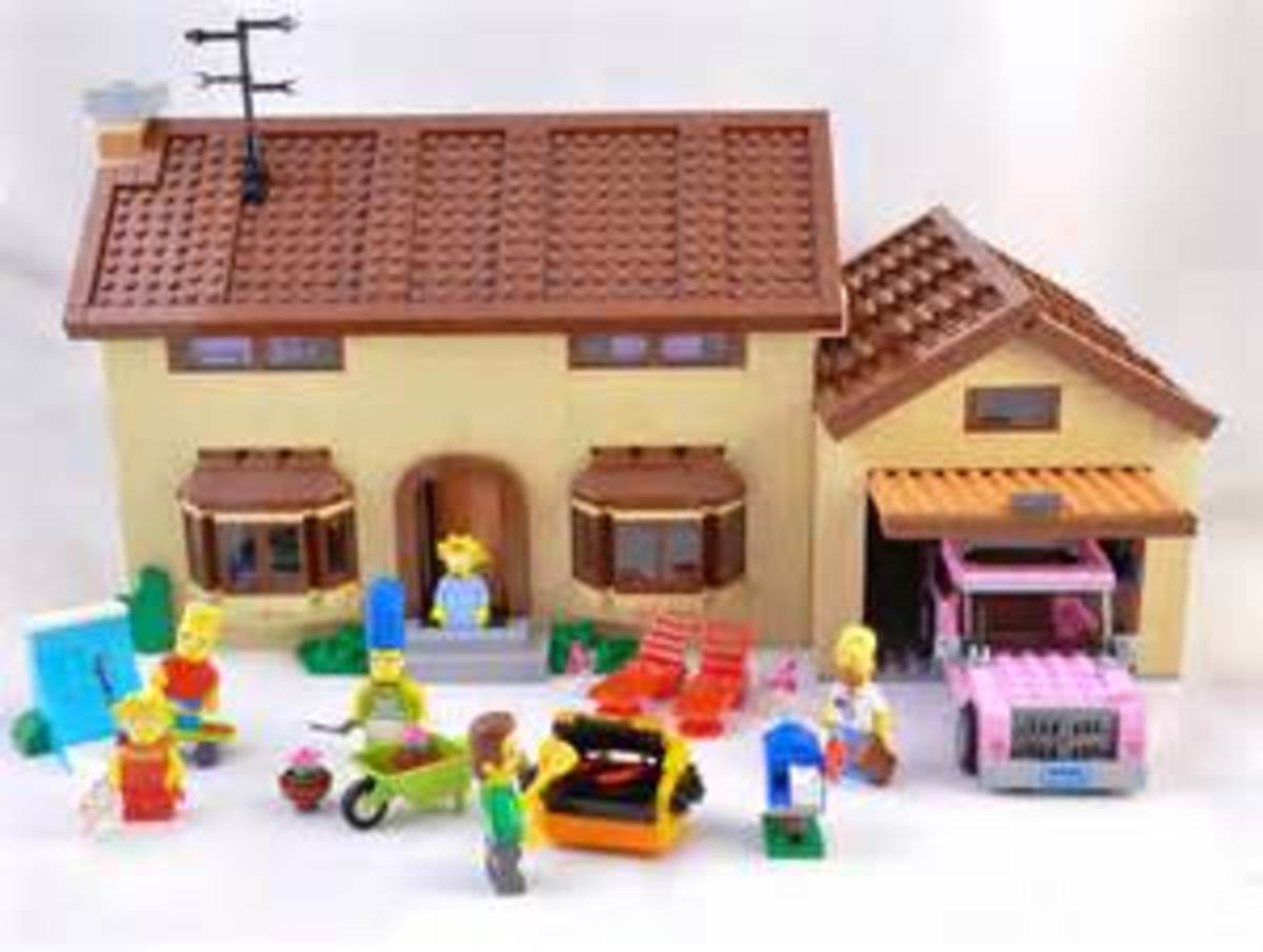 Lego Simpsons House - Set 71006
