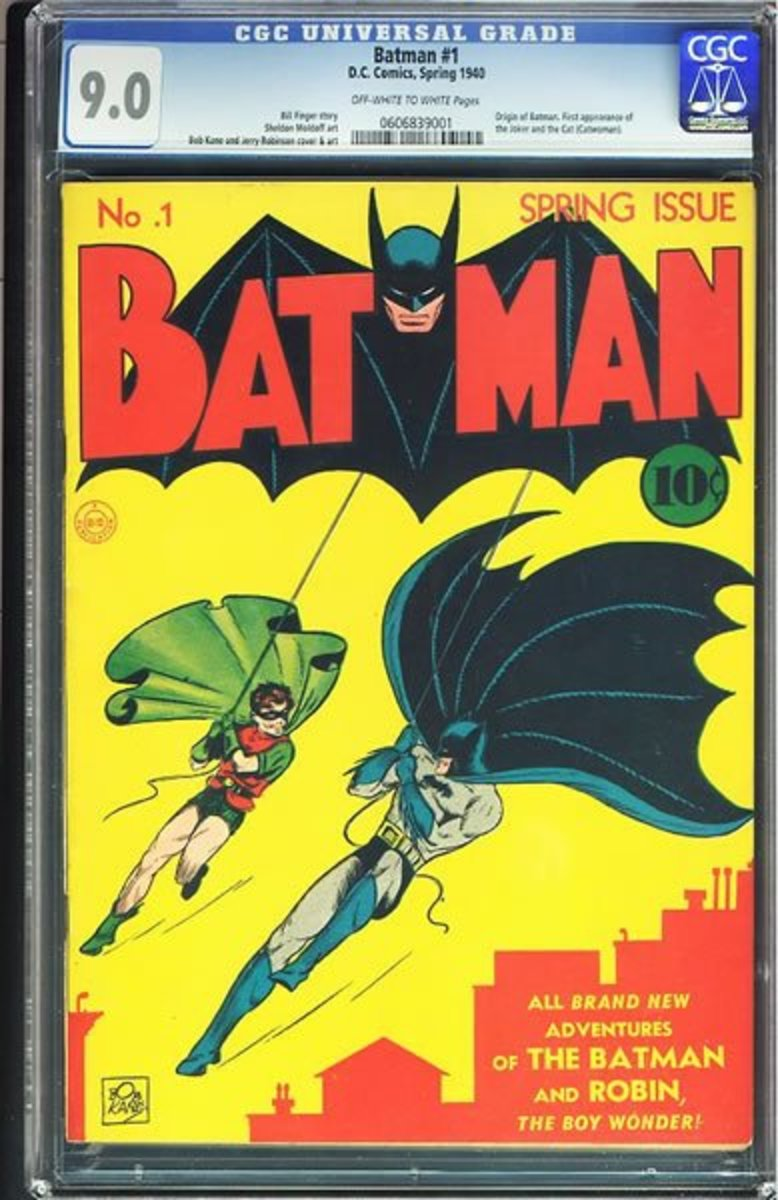 CGCGraded 9.0  Batman #1