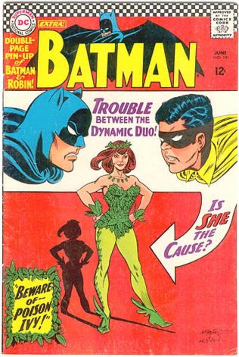 1st Appearance of Poison Ivy