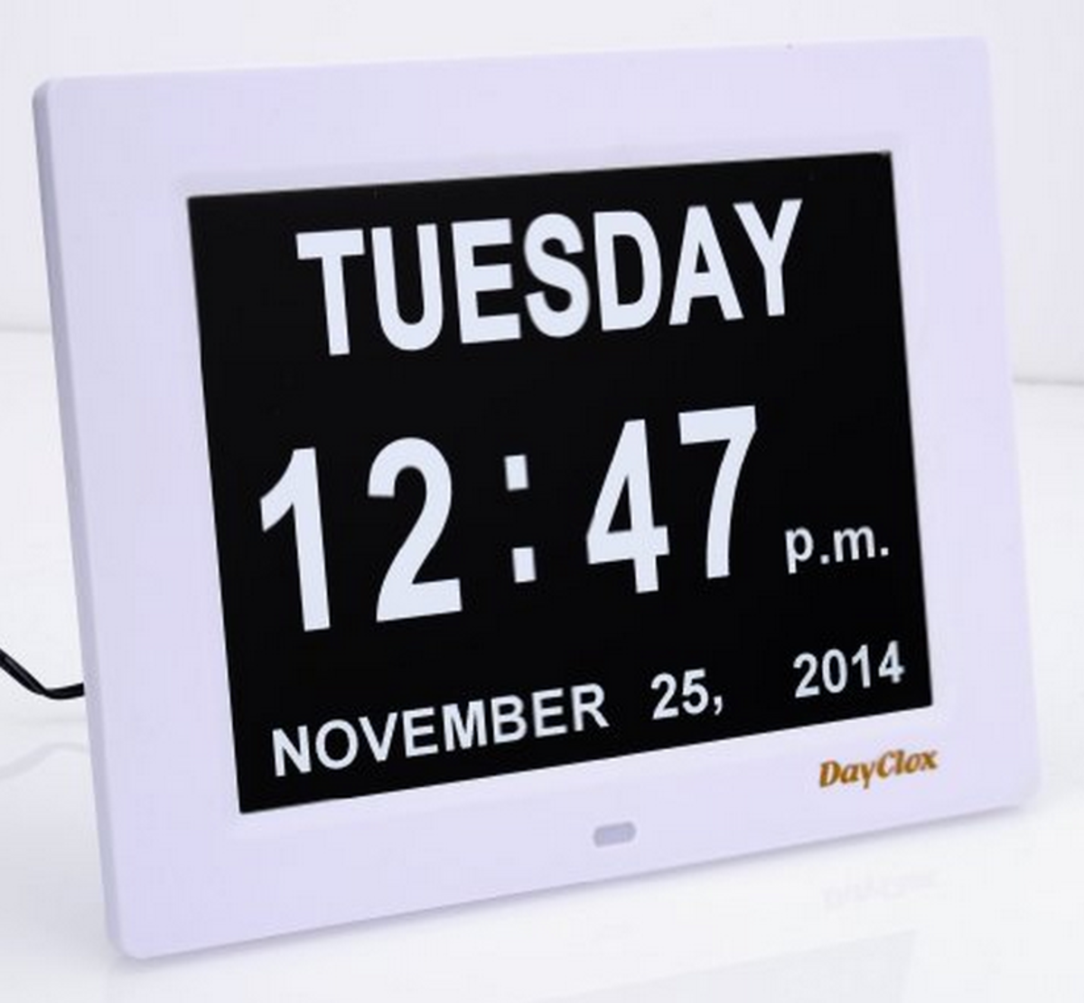 Click the link in the text to the left to see this and other day clocks.