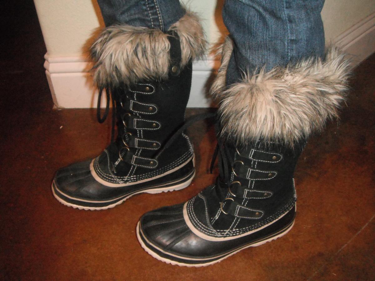 I love my Sorel Joan of Arctic boots!