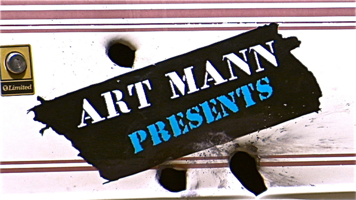The Art Mann Presents show logo
