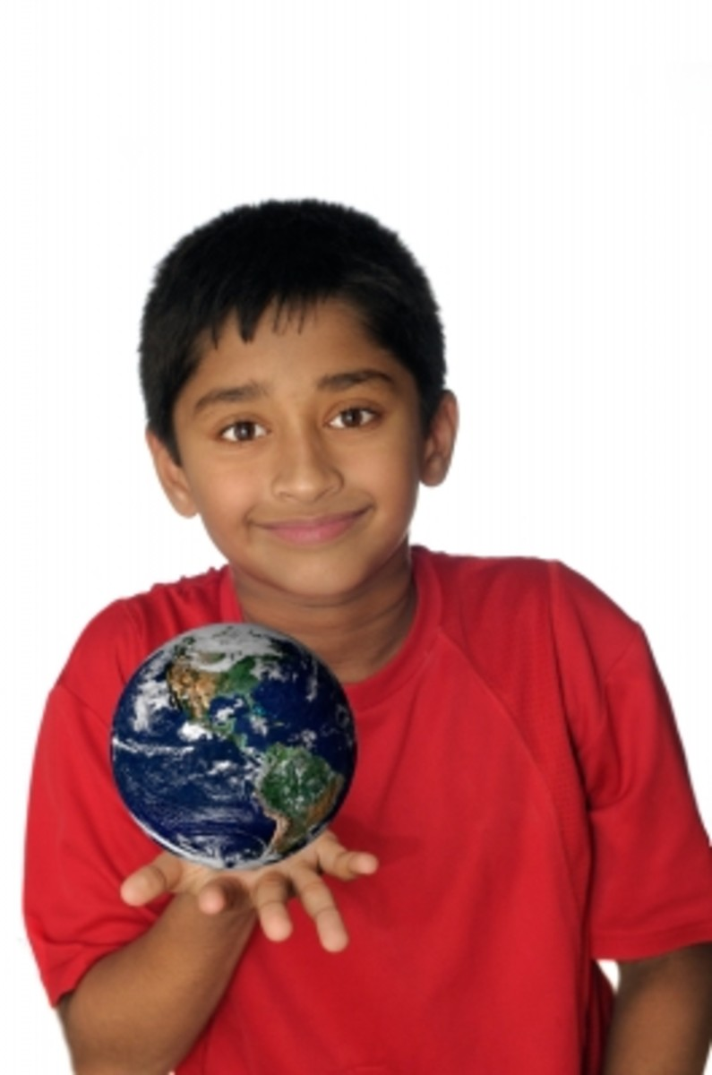Help students improve their view of the world by better understanding geography.
