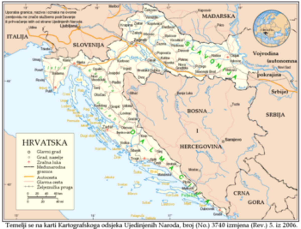 Croatia in modern times