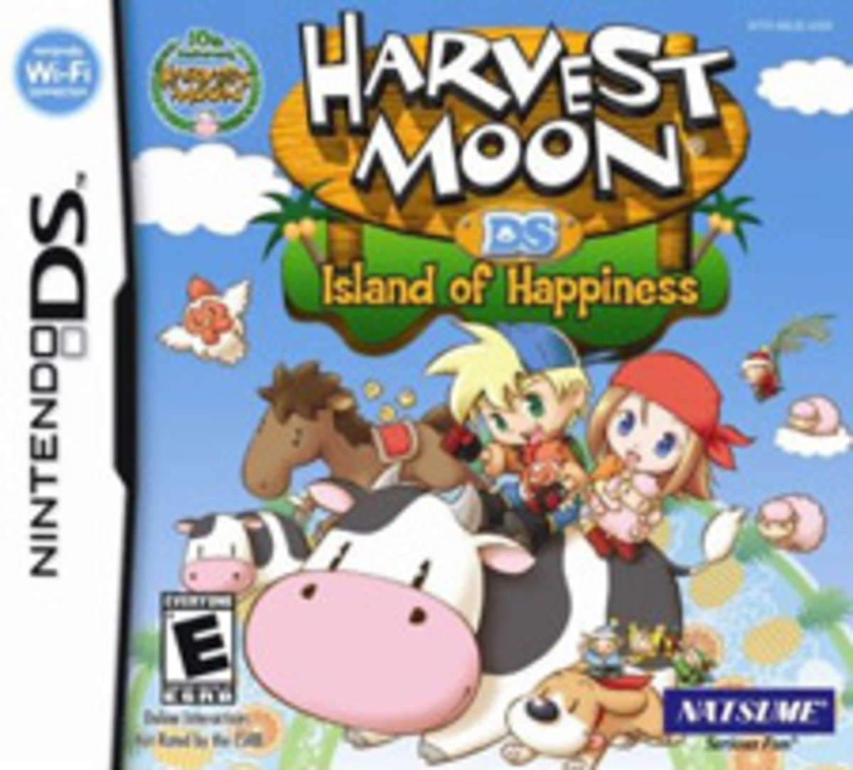 Bachelors and Bachelorettes in Harvest Moon DS: Island of Happiness
