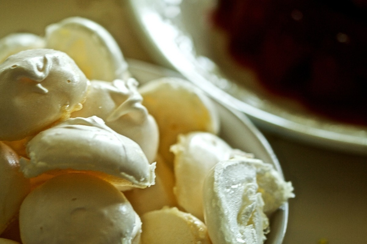 Meringues - Ingredients for Sans Rival