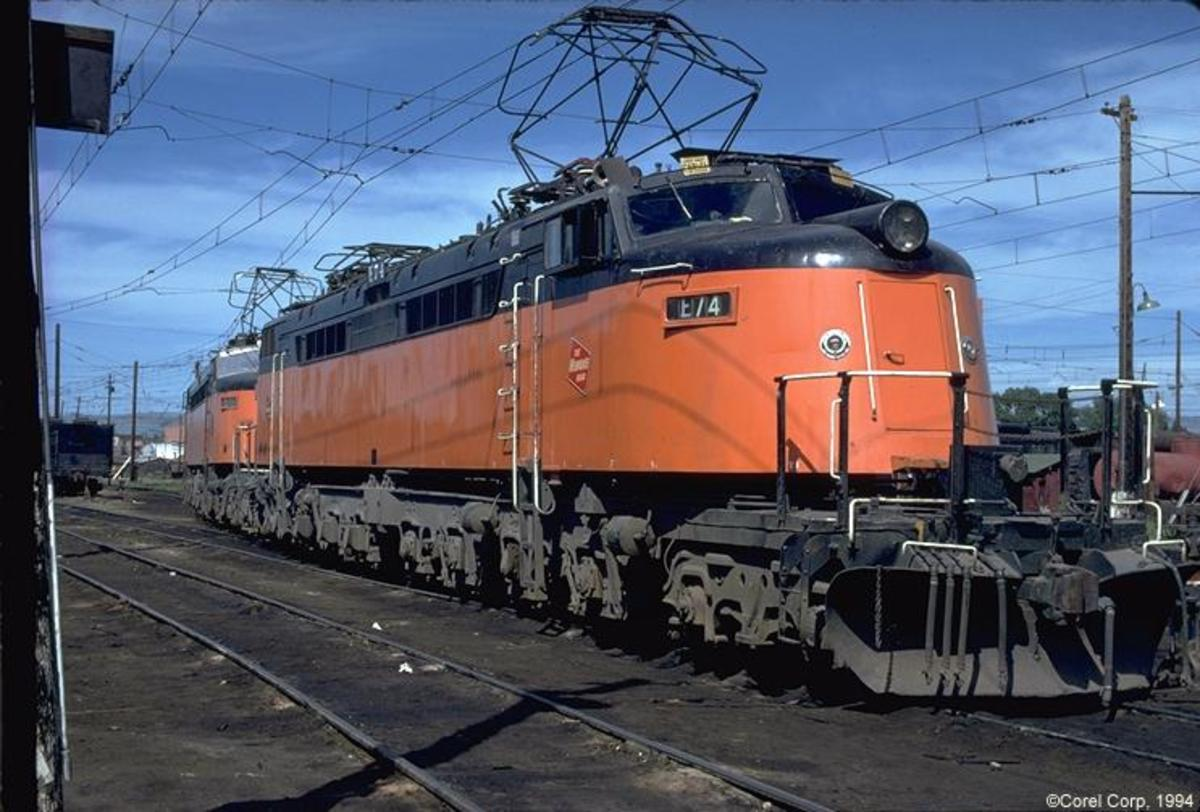 Two of Milwaukee Railroads Little Joes.