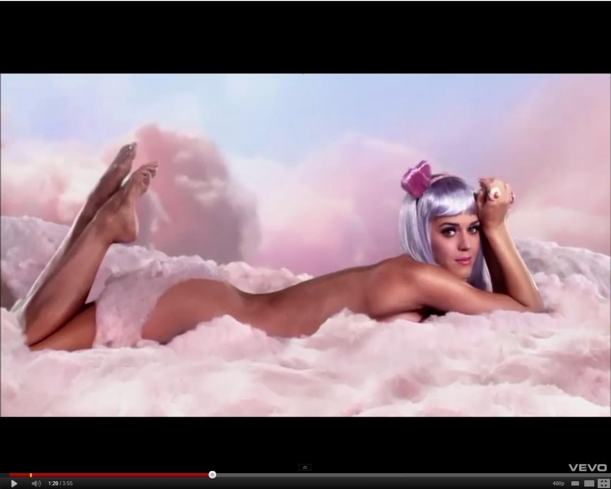 Katy Perry in California Gurls video