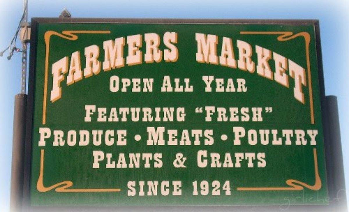 Support local, organic farmers
