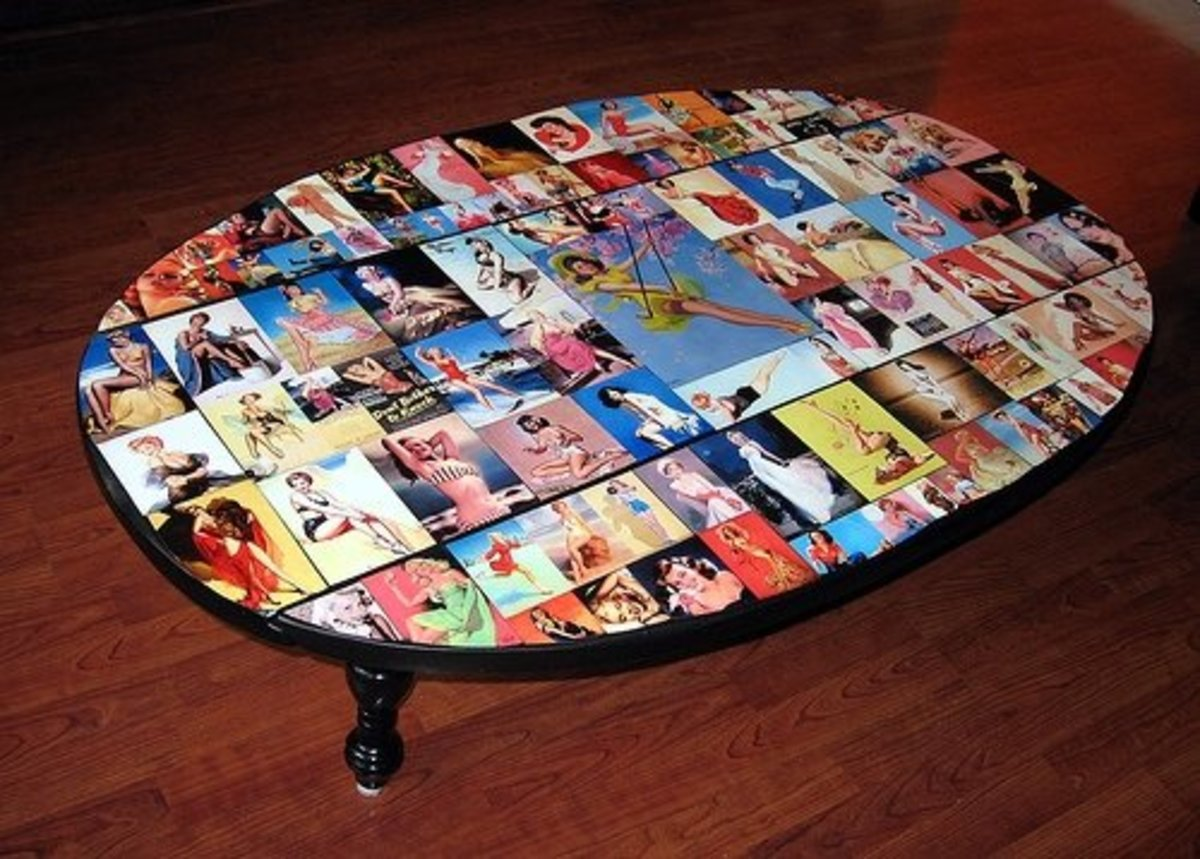 Create a Themed Collage Table