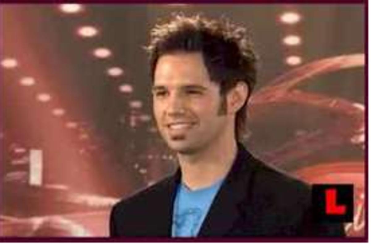 DAVID OSMOND -  Son of Alan, David was on American Idol in Season 8