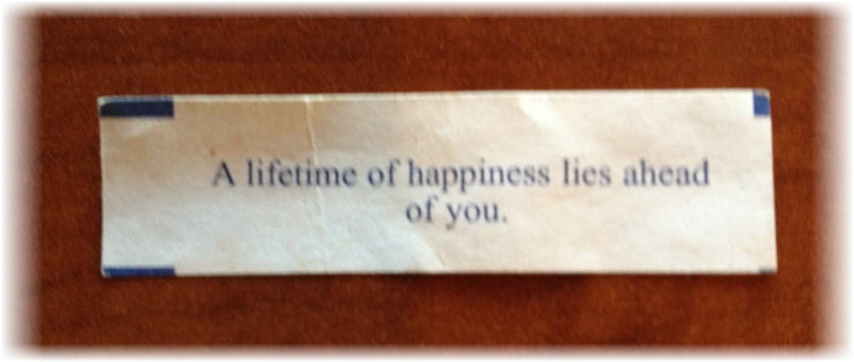 The Secret Chinese Fortune That Brightened My Day: A Lifetime of Happiness Lies Ahead of You