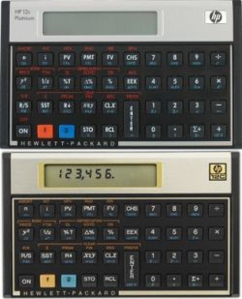 HP 12c Platinum vs. HP 12c